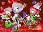 Christmas Wallpaper Blaze And Amy