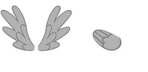 Pony wings :free to use: