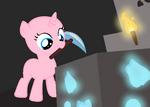 Minecraft Pony base- Diamonds!