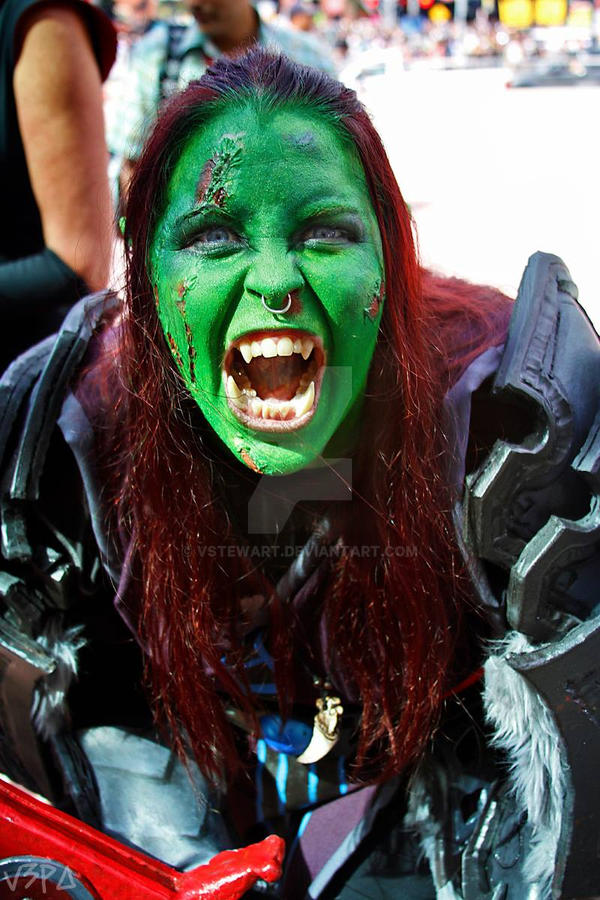 Orc Rage by VStewart
