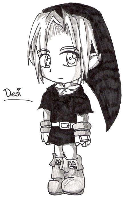 chibi link dark deviantart