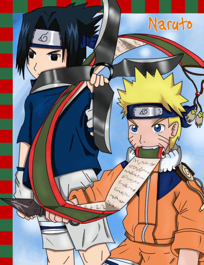 .::Naruto and Sasuke::. by yohfan