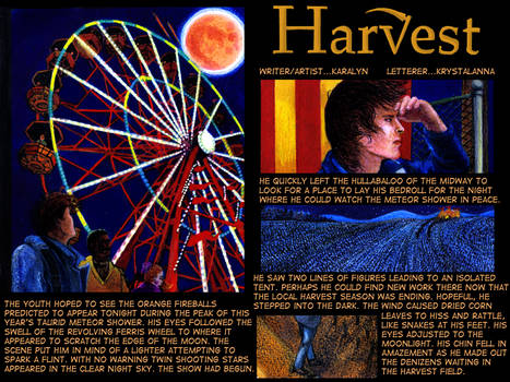 Chronicles of Harvest  page 2