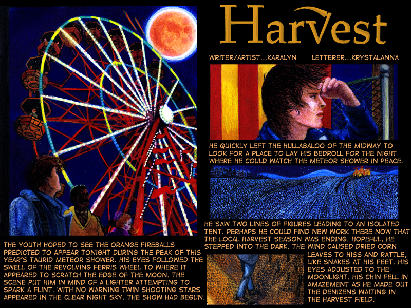 Chronicles of Harvest  page 2 by Karalyn2001