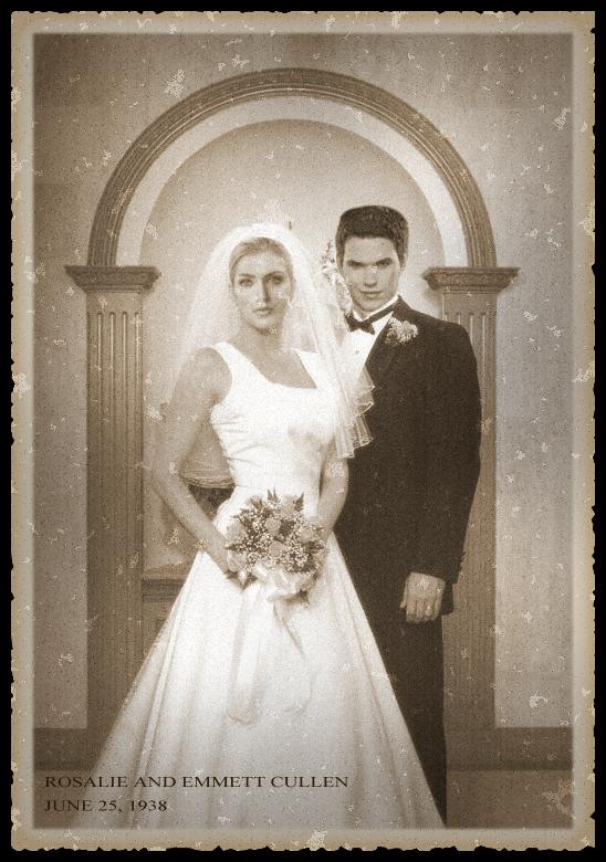 Twilight emmett and rosalie wedding