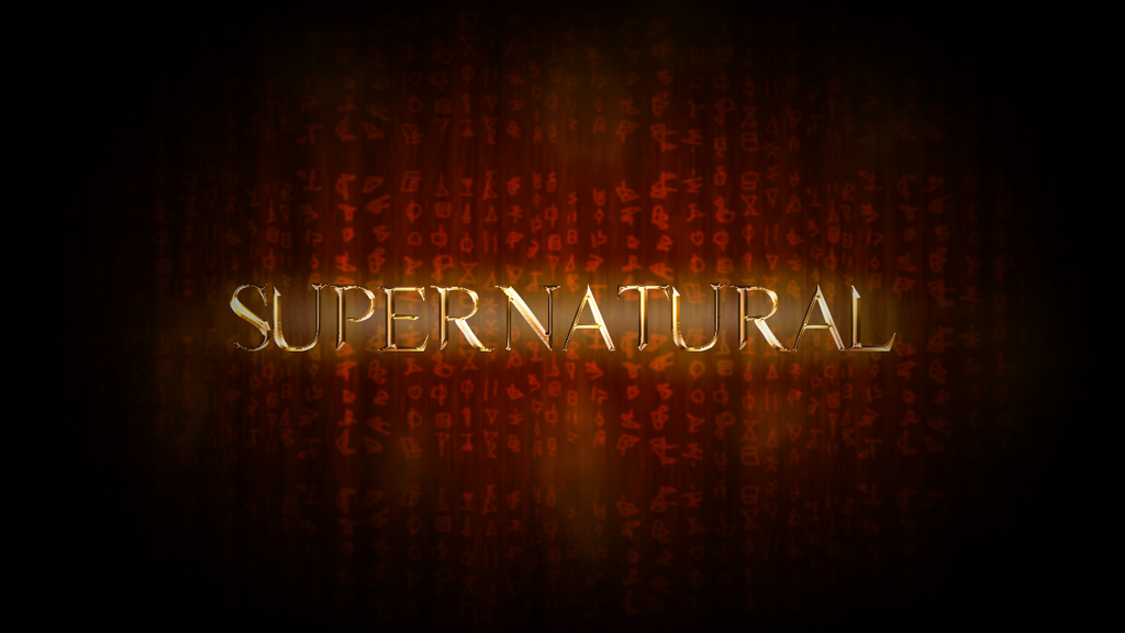 Supernatural season 8 title card by iclethea on deviantart - Supernatural season 8 title card ...