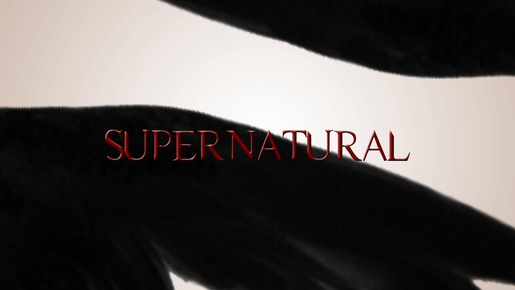 supernatural season 4 title card by iclethea on deviantart