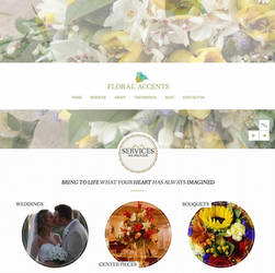 Re-design for a florist by Schnurr