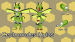 Suzumega Contest Entry: Cephonodes hylas model by PredalienMaster