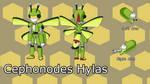 Suzumega Contest Entry: Cephonodes hylas model by PredalienMaster