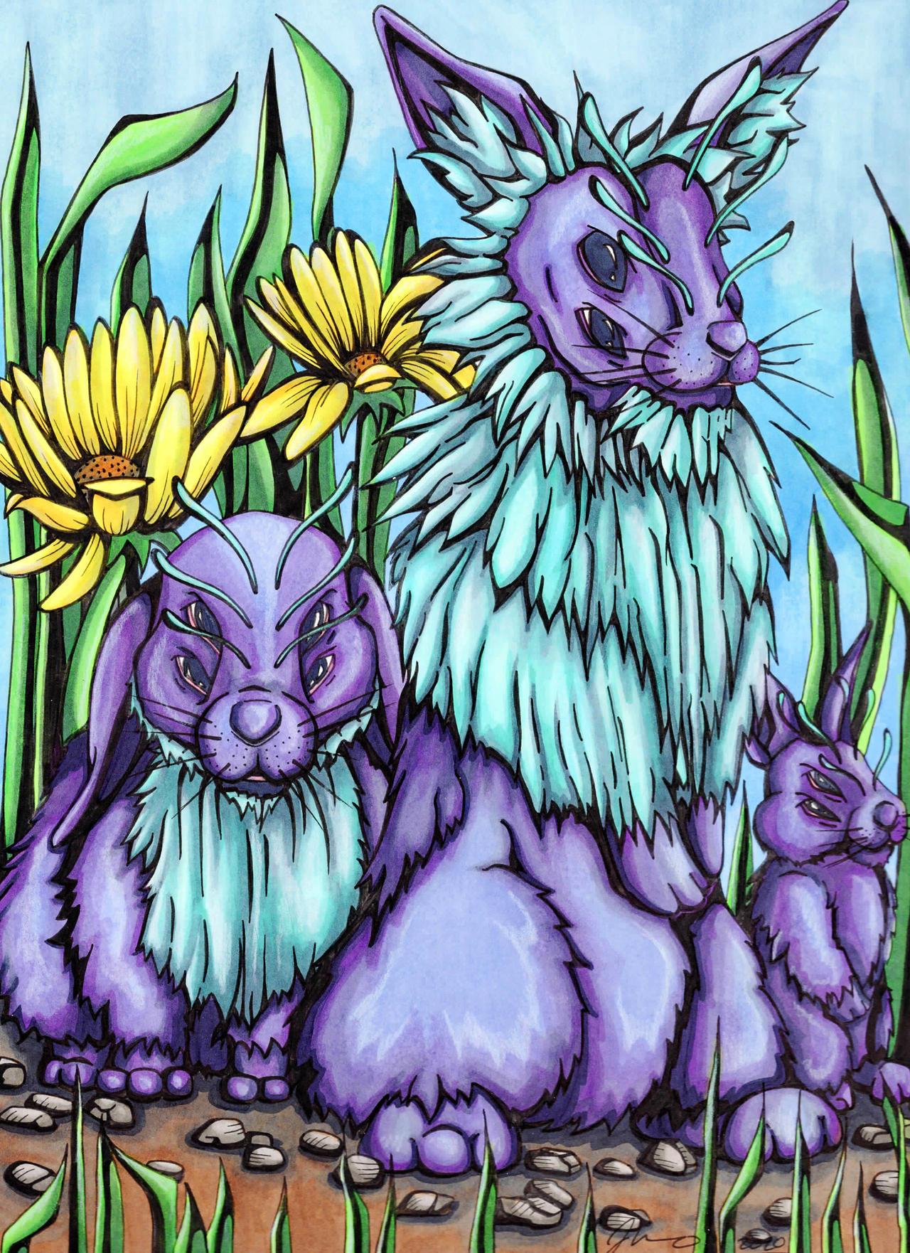 Alien Rabbits