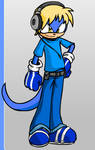 My bro as a sonic character by Shadenlover4ever
