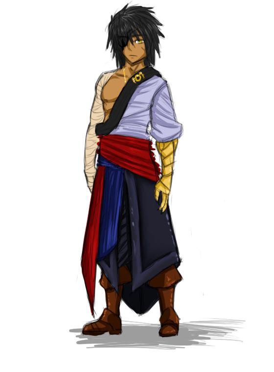 OLD 2011 - Myrddin Outfit Concept by PsychicMyrddin