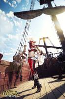 Set sail! Miss Fortune cosplay by magmasaya