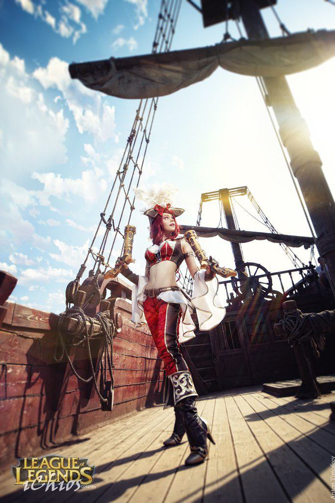 Set sail! Miss Fortune cosplay