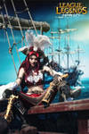 Fortune doesn't favor fools! Miss Fortune cosplay