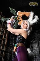 Battle Bunny Riven cosplay