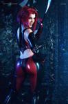 Bloodrayne cosplay ~ You Better Run