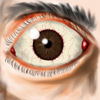 Scared Eye by Braqoon