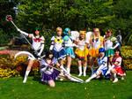 Sailor Moon Group cosplay