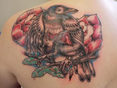 mama crow by fllann