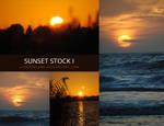 Sunset stock