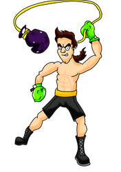 Punch-Out!! Aran Ryan (Coloured)
