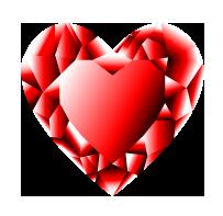 Heart Crystal by DrawDesign