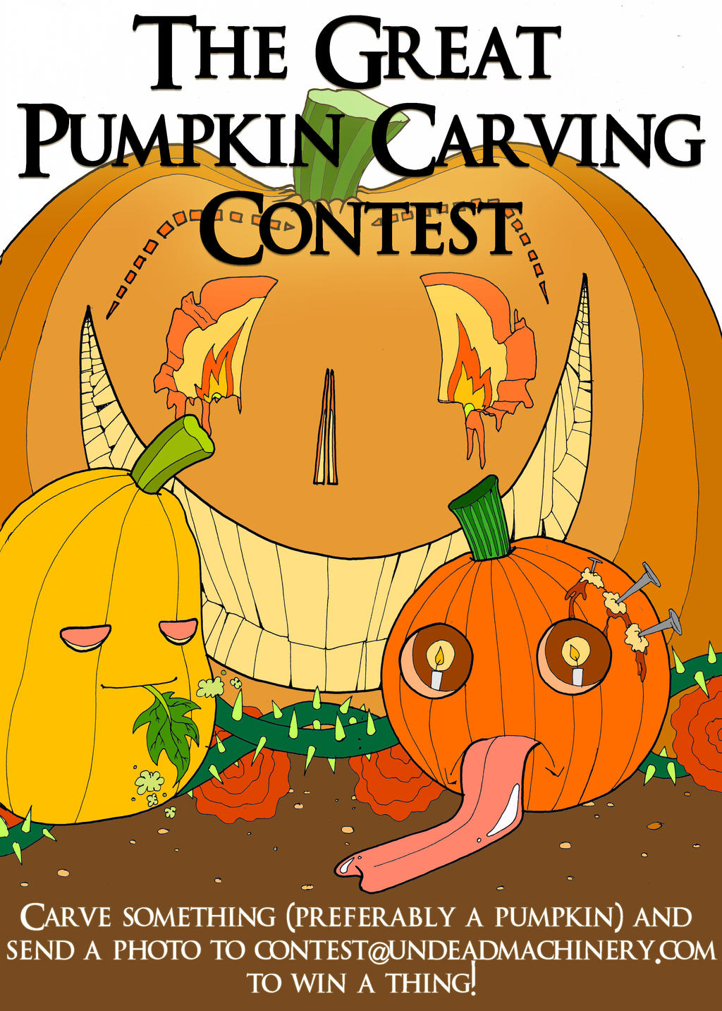 Great Pumpkin Contest by Ventriloquistic