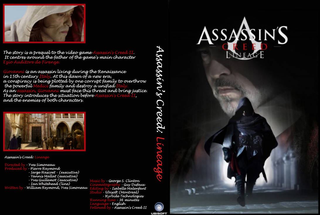 Assassin S Creed Lineage Dvd By Kosgamez On Deviantart