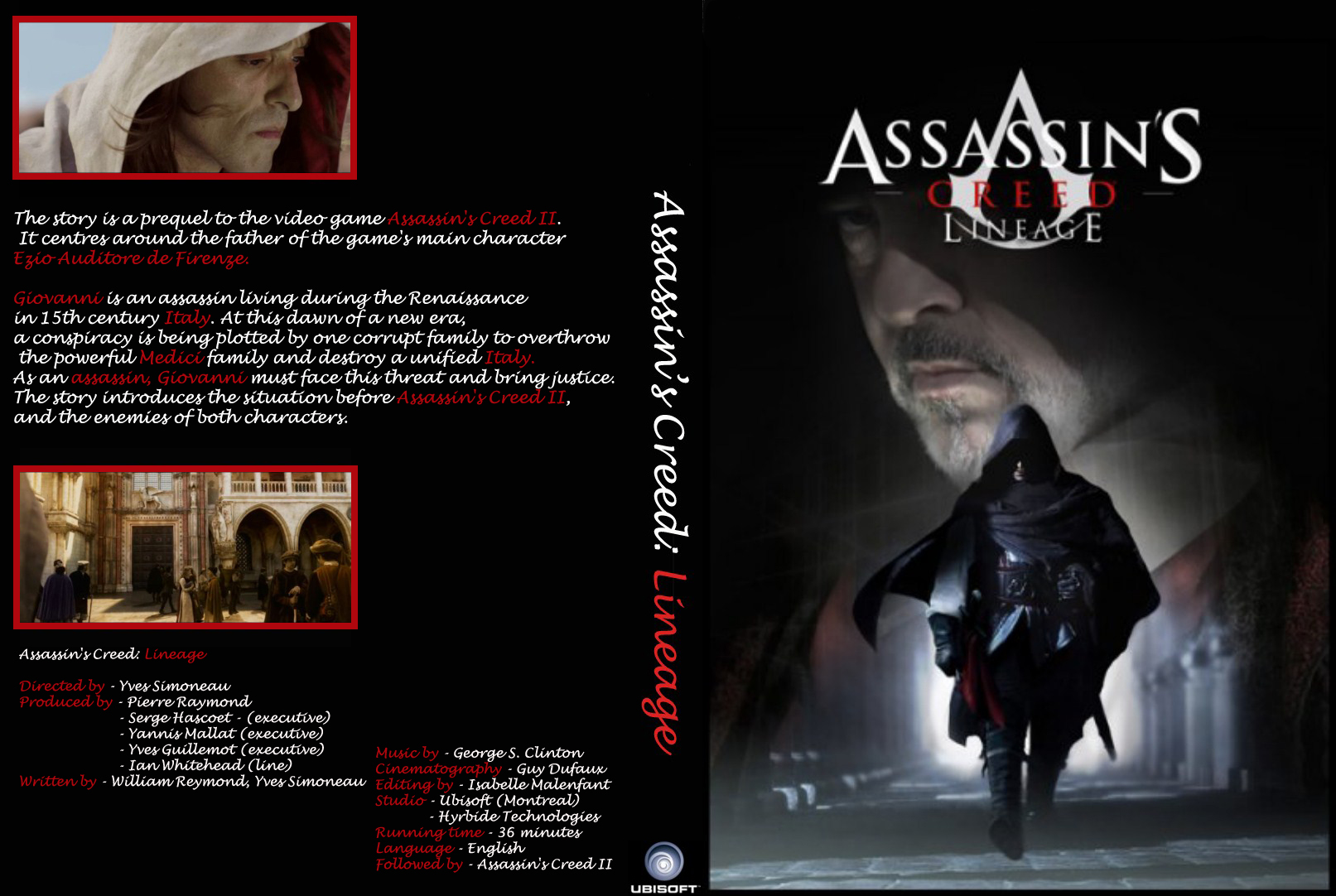 Assassins Creed Lineage DVDRip