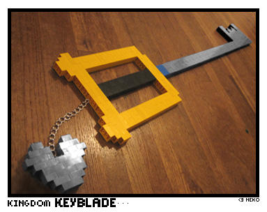 LEGO keyblade by thenekoling