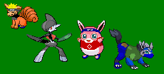 Team 7 Pokemorphs by MegaAnime