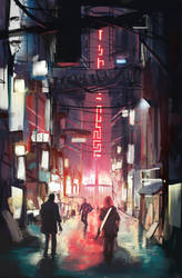 Cityscape The Veil by Aleltg