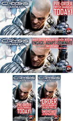 Crysis Warhead banners by scott-baumann