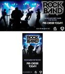 Rock Band Wii preorder banners by scott-baumann