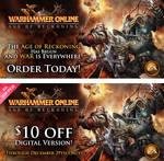 Warhammer Online banners by scott-baumann