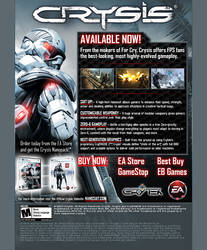 Crysis launch email