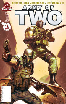 Army of Two issue 1 cover