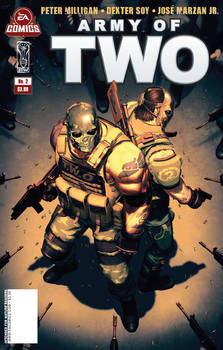 Army of Two issue 2 cover