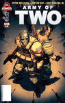 Army of Two issue 2 cover by scott-baumann