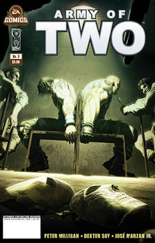 Army of Two issue 3 cover