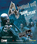 Resident Evil 4 print ad by scott-baumann