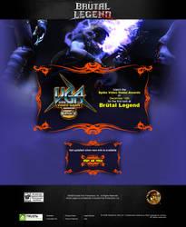 Brutal Legend teaser page 1 by scott-baumann
