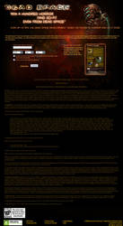 Dead Space sweepstakes page by scott-baumann