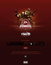 EA Comics teaser page by scott-baumann