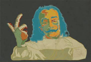Salvador Dali by Temple00