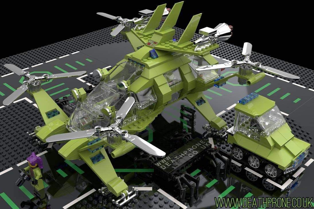Lego Explorer 3 by deathproneimages