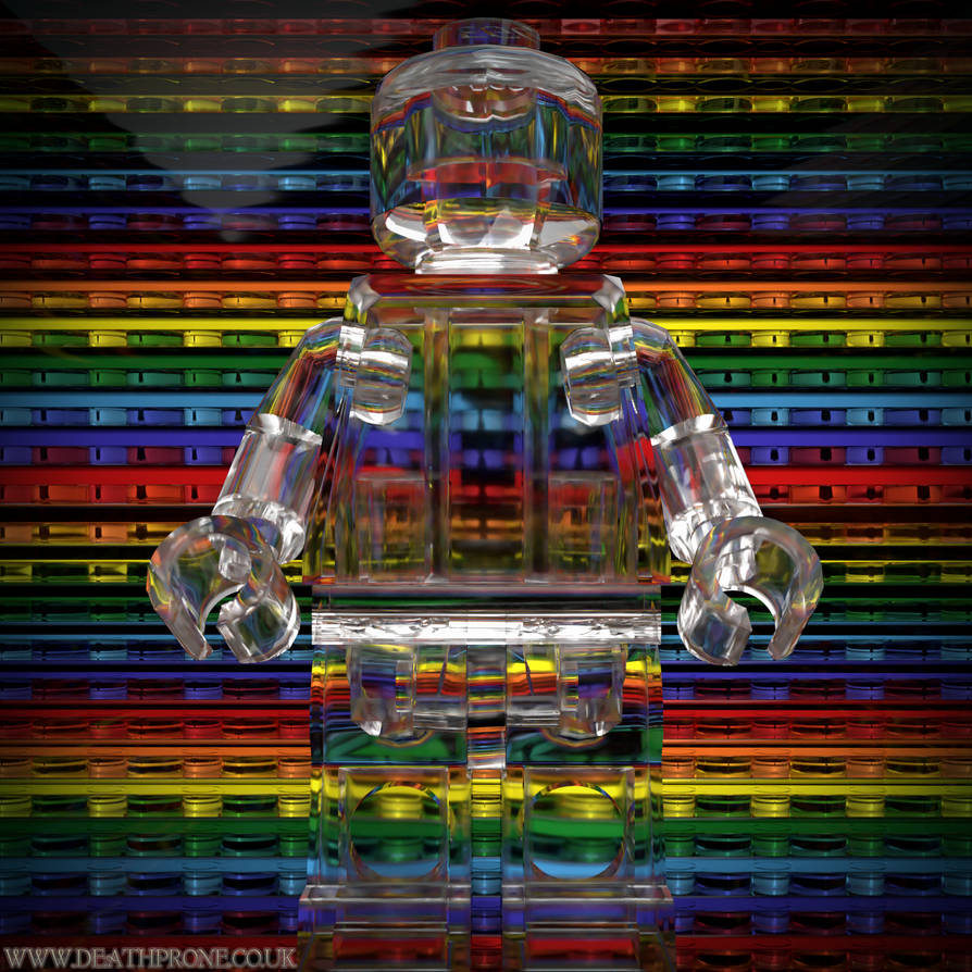 My Lego Pride is transparent by deathproneimages