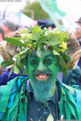 Jack in the Green parade in Hastings